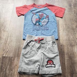 🟢40%Off Bundles 3T Spiderman Outfit Set